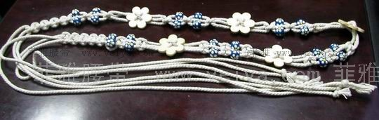 两个绳子编织方法图解